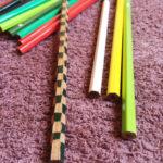 斬新な鉛筆を頂きました。