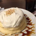高倉珈琲のパンケーキ再び