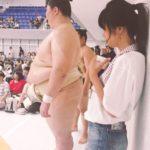 大相撲の立川立飛での巡業に行ってきました(^^)