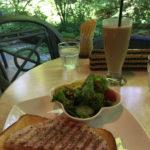 軽井沢の朝食